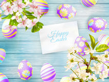Easter card. EPS 10 Royalty Free Stock Photo