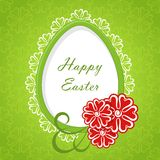 Easter card. Royalty Free Stock Image