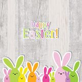 Easter card - greeting card with copy space Royalty Free Stock Photo