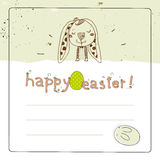 Easter card Royalty Free Stock Images