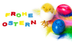Easter card, Happy Easter Stock Image