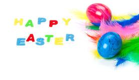 Easter card, Happy Easter Royalty Free Stock Image