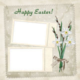 Easter card for the holiday Royalty Free Stock Images
