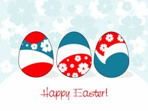 Easter card 4 Royalty Free Stock Photography