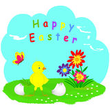 Easter card. illustration,vector Stock Photos