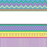 Easter Card Pattern Royalty Free Stock Image