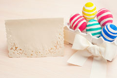 Easter card with place for your text Royalty Free Stock Photo