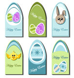 Easter card set Royalty Free Stock Photography