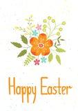 Easter card template Stock Photos