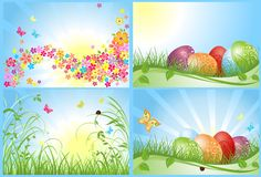 Easter cards Royalty Free Stock Photos