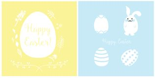 Easter Cards Design royalty free stock images