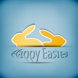 Happy easter illustration  Stock Images