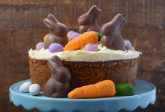 Easter Carrot Cake Stock Images