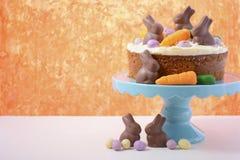 Easter Carrot Cake Stock Image