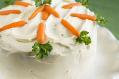 Easter Carrot Cake Stock Photos