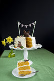Easter Carrot Cake Royalty Free Stock Image