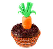 Easter Carrot cupcake Royalty Free Stock Image