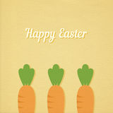 Easter carrots Stock Images