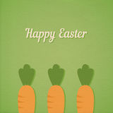 Easter carrots Royalty Free Stock Photography