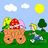 Easter Cartoon Stock Photography