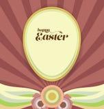 Easter Celebration Retro Background Royalty Free Stock Photo