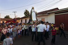Easter celebrations in León, Nicaragua stock photo