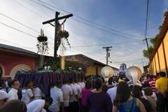Easter celebrations in León, Nicaragua Stock Image