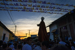 Easter celebrations in Leon, Nicaragua Royalty Free Stock Images