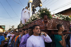 Easter celebrations in Leon, Nicaragua Stock Images
