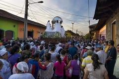 Easter celebrations in Leon, Nicaragua Stock Image
