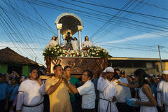 Easter celebrations in Leon, Nicaragua Royalty Free Stock Image