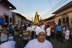 Easter celebrations in Leon, Nicaragua Stock Photos