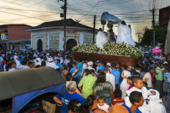 Easter celebrations in Leon, Nicaragua Stock Photo