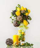 Easter Centerpiece Royalty Free Stock Photography