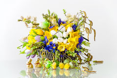 Easter Centerpiece Royalty Free Stock Images