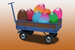 Easter Chariot Royalty Free Stock Photos
