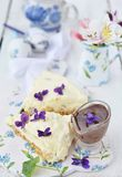 Easter cheesecake. Stock Images