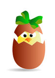 Easter chick. Jpeg image from svg . illustration of easter Stock Photography