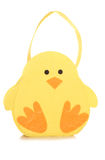 Easter chick bag Stock Images