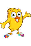 Easter Chick Character Royalty Free Stock Image