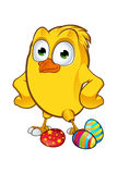 Easter Chick Character Stock Image