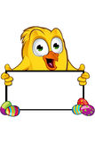 Easter Chick Character Stock Photography