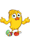 Easter Chick Character Royalty Free Stock Photo