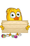 Easter Chick Character Royalty Free Stock Photography