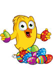 Easter Chick Character Royalty Free Stock Images