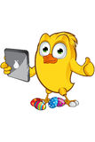 Easter Chick Character Royalty Free Stock Photos