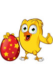 Easter Chick Character Stock Images