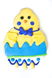 Easter Chick Cookie Stock Photography