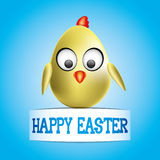 Easter Chick. Royalty Free Stock Photo