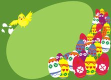 Free Easter Chicken Composition Stock Photo - 24220100